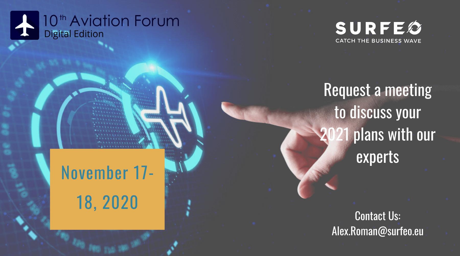 2020-11 Aviation Forum EN Surfeo